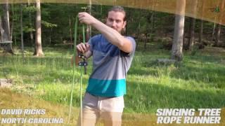 Video Singing Tree Rope Runner - TreeStuff.com Customer David Ricks' Review In The Field download MP3, 3GP, MP4, WEBM, AVI, FLV Desember 2017