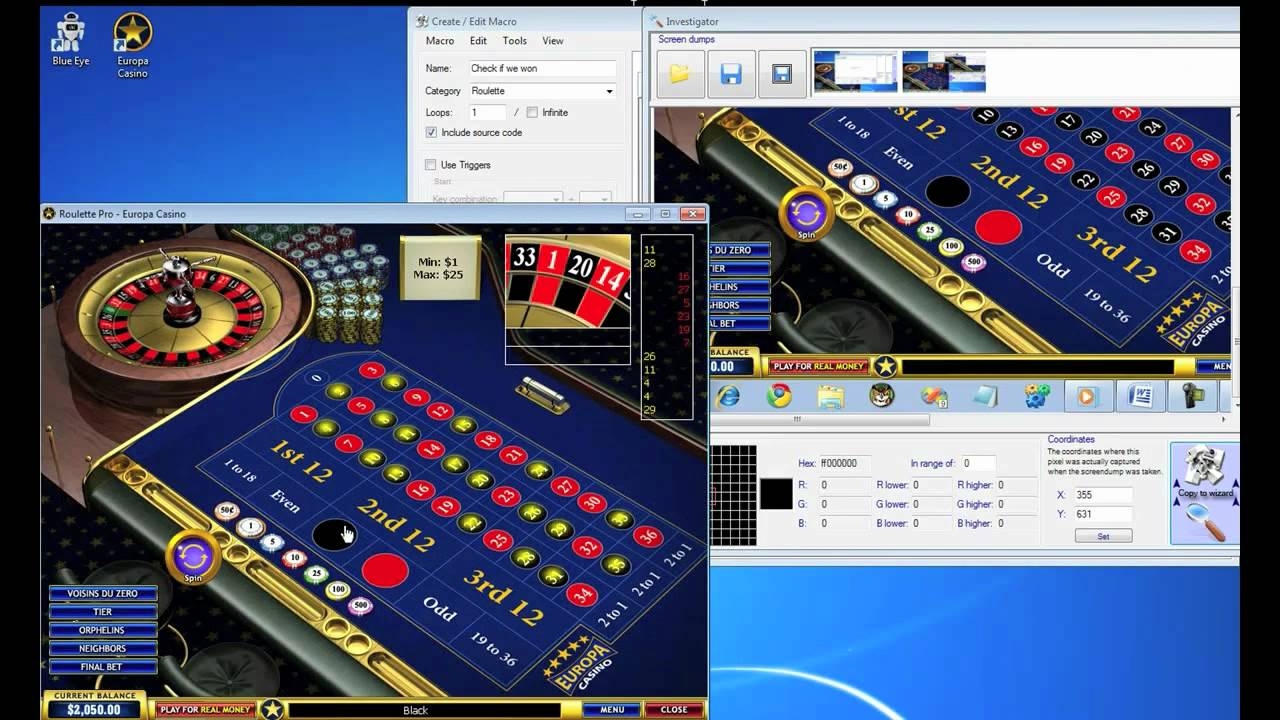 Roulette robot system grand luxe casino mobile