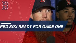 Red Sox sound off on 2018 World Series Media Day