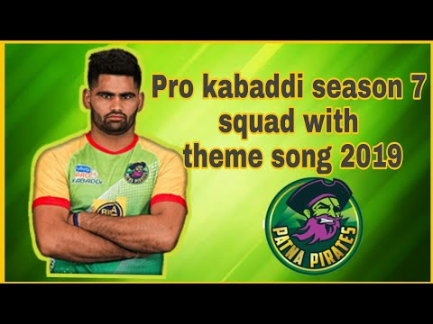 ||PKL 2019|| Patna Pirates New Full Squad With Theme Song 2019||Hindustani Sports||