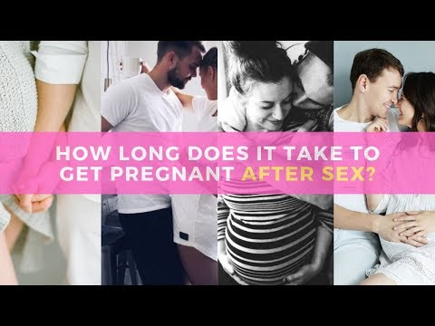 How Long Does It Take To Get Pregnant After Sex What women want