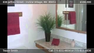 836 Jeffrey Street Incline Village NV 89451