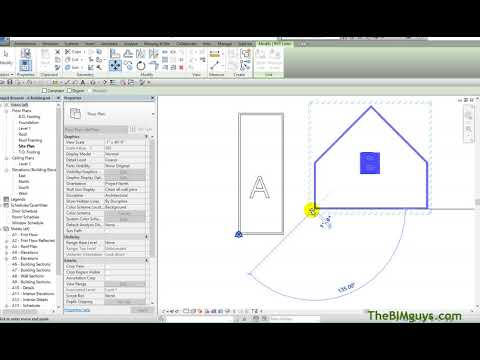 Setting Up a Shared Coordinate Point in Revit - YouTube