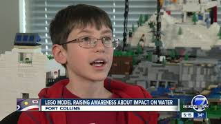 Fort Collins Boy, 12, Builds Massive LEGO Model Representing The Hydrologic Cycle
