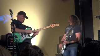 BILLY SHEEHAN PHIL X RUSS MILLER Funk No. 49 Yamaha Attitude Day 9/15/2012   PHILBILLY X