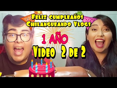 Video Resumen, 1 año de ser Chilangueando vlogs. parte 2