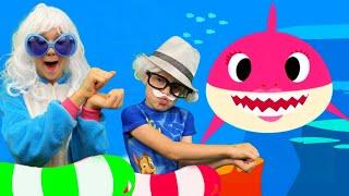 Baby Shark bayi hiu Lagu Anak Anak Video Edukasi dari Alex dan Nastya