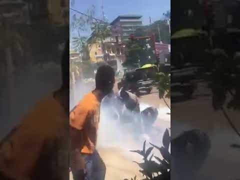 Kaloum : gaz contre marche pour le retour des enseignants