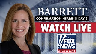 LIVE: Amy Coney Barrett's Supreme Court confirmation hearings | Day 3