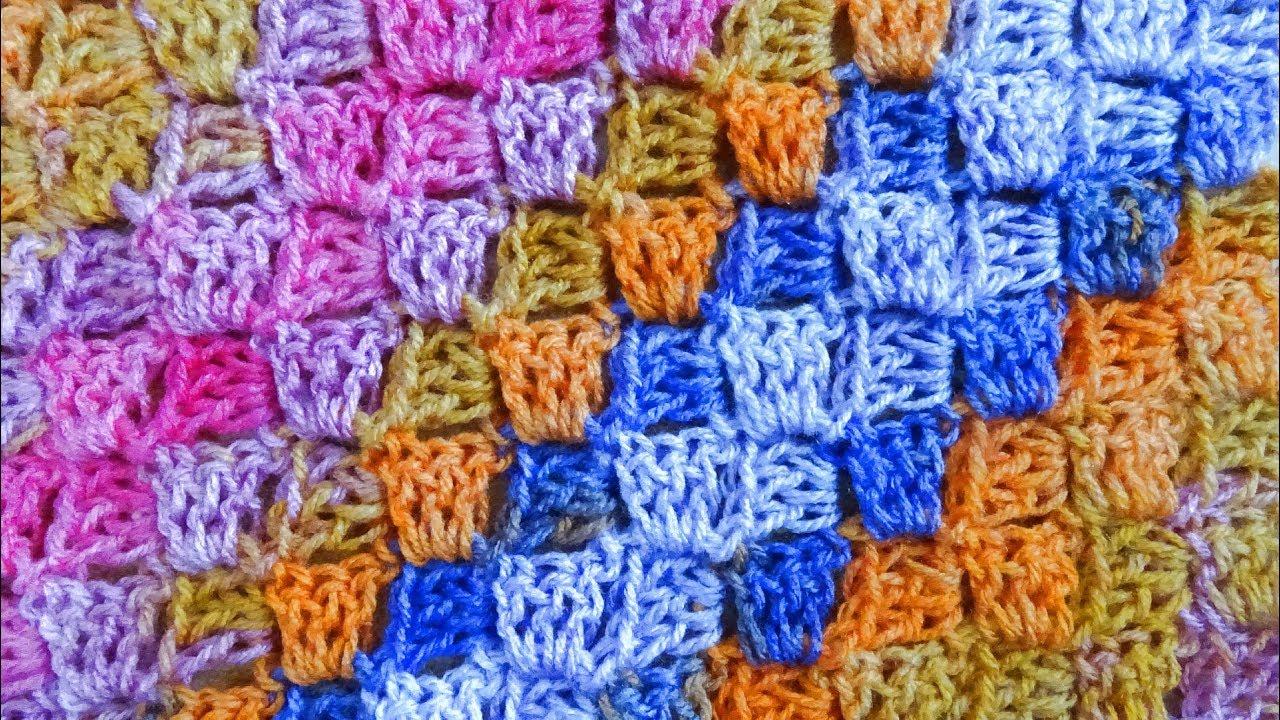 Corner To Corner Crochet Plus Color Change Decrease Right