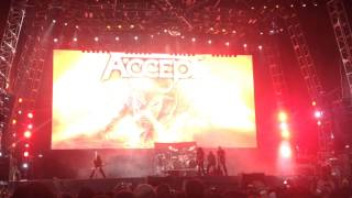 Accept - London Leatherboys - Live at Monsters of Rock 2015