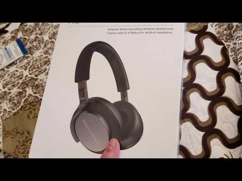 Bowers and Wilkins PX 5 unboxing