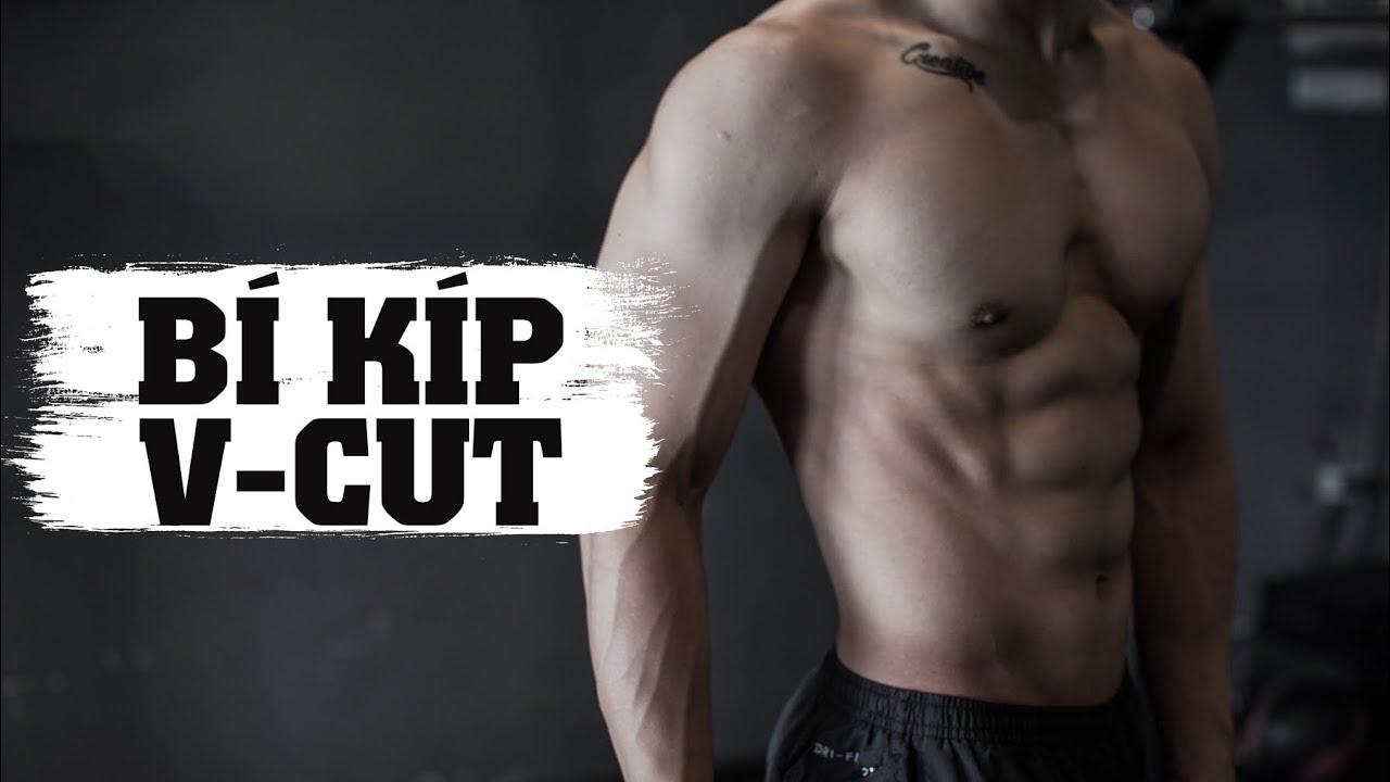 Bật mí bí quyết cho bụng V-cut | How to train for ripped V-cut abs | SHINPHAMM