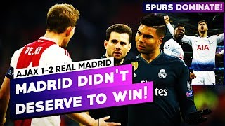REAL MADRID DOES IT AGAIN! Ajax 1-2 Real Madrid CHAMPIONS LEAGUE ROUND OF 16 - MATCH REVIEW BugaLuis