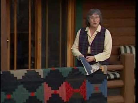 Log Cabin, part 1 - YouTube : quilt in a day videos - Adamdwight.com