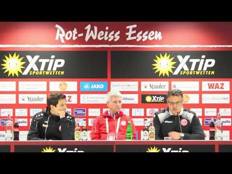 Pressekonferenz: RWE - Fortuna Düsseldorf II