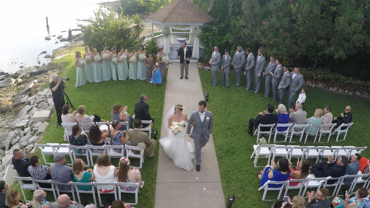Westin Tampa Bay Rusty Pelican Wedding