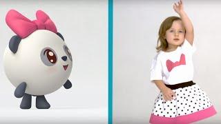 Малышарики. Просыпайся - 22 серия - зарядка и песенка для детей(Развивающие мультики для самых маленьких