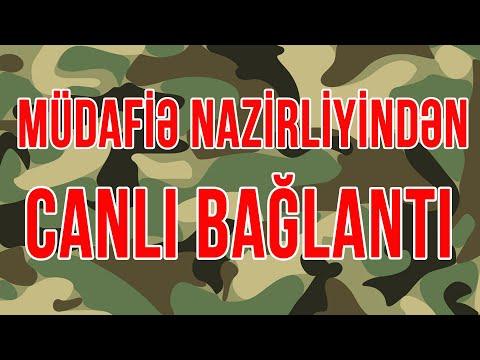 Müdafiə Nazirliyinin Brifinqi - Canlı Yayım - Baku Tv