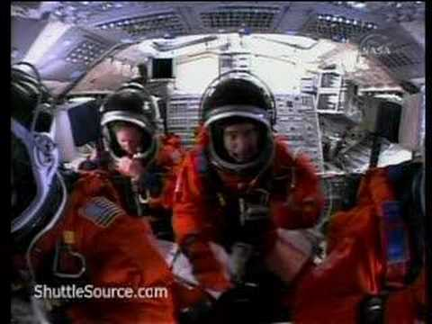 space shuttle launch cockpit view hd - photo #46
