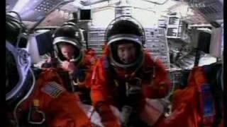 STS-118 Launch Cockpit Video