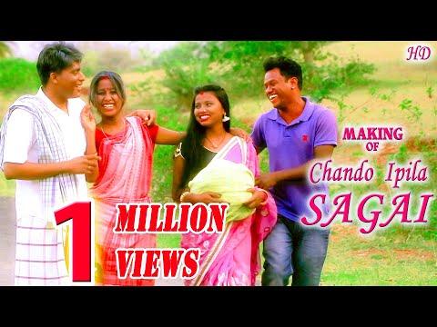 Making Of CHANDO IPILA SAGAI | Ft. Urmila, Jitu, Charan, Anjali, Kanhaiya, | New Santali Song 2019