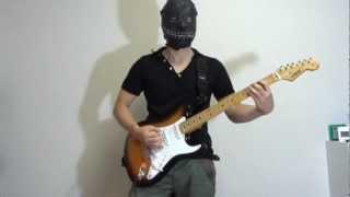 solo : 1:42~ Eye of The Hurricane Impellitteri Guitar : Navigator N...