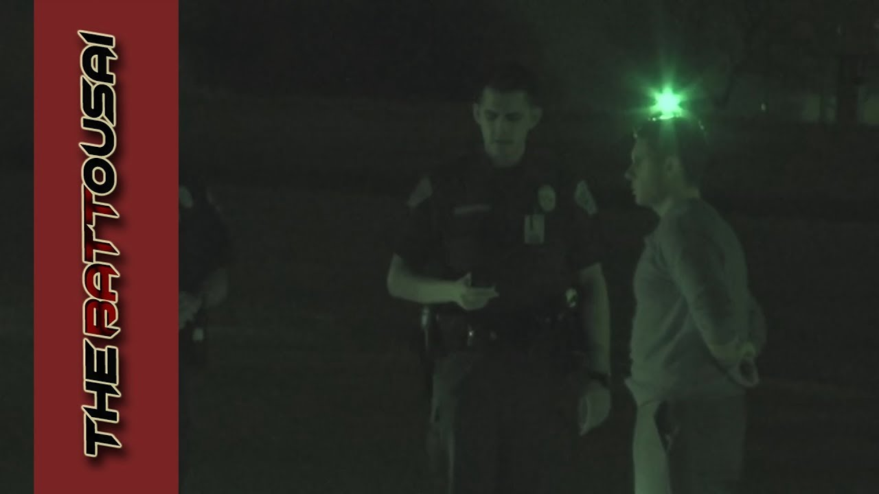 Austin Man Refuses The Field DUI Sobriety Test 2/13/2017