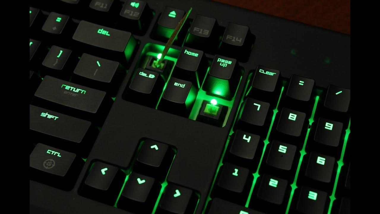 Razer Blackwidow Ultimate 2014 review (Razer Green switch)