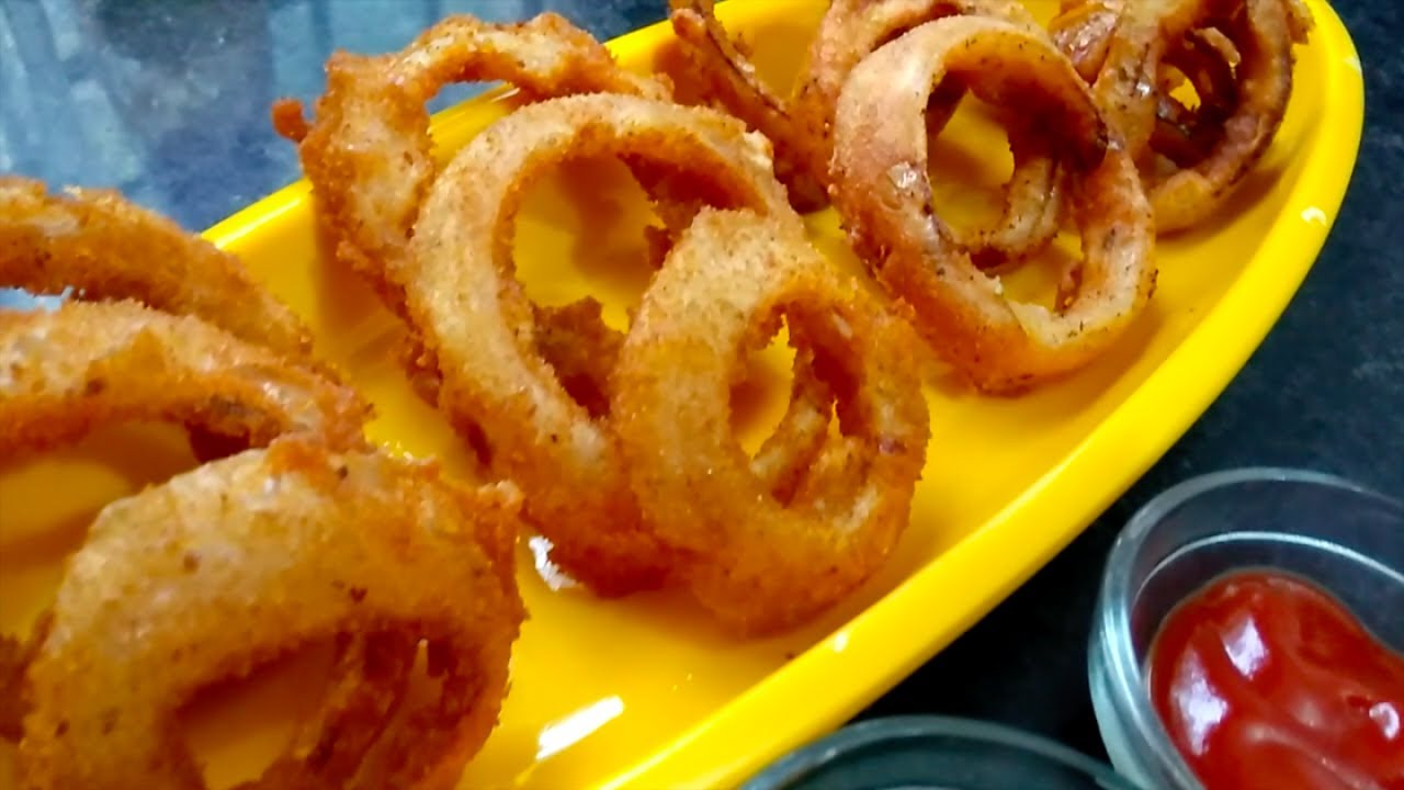 How to make crispy onion rings recipe