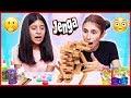 Jenga Slime Challenge Kinetik Kum Slaym Eğlenceli Çocuk Videosu Dila Kent