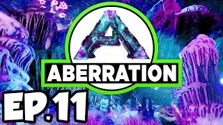 ARK: Aberration Ep.11 - ALBINO DINOSAURS & DOEDICURUS TAME ATTEMPT!!! (Modded Dinosaurs Gameplay)