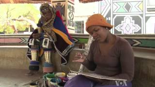 Ndebele Artist Popularizes Traditional Art