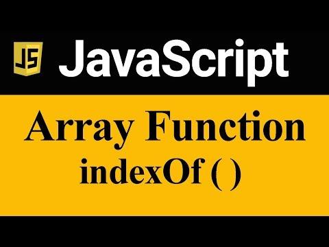 IndexOf Method In JavaScript (Hindi)
