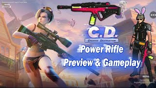 (Update) Power Rifle Preview and Gameplay