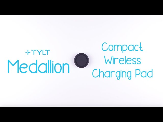 TYLT Medallion | Compact & Portable Wireless Charger