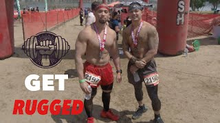 VLOG #16 Rugged Maniac 2019 All Obstacles | Castaic Lake | Mud Run | Obstacle Course | GoPro Hero