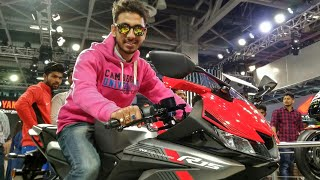Yamaha R15 V3 Launched   First Look   Review   2018   Auto Expo  