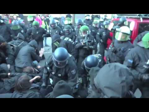 G20 Hamburg Germany Police Violence 2017