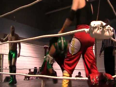 Ethan Hawkes & Ace Riviera Promo & Match against Arab Money - Cold Blooded - 04/12/2014