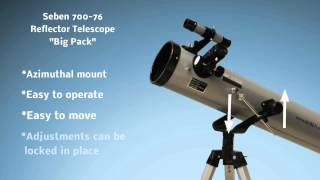 Seben 700-76 Reflector Telescope New Big Pack