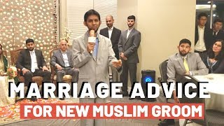 Groom Converts to Islam, Gets Married and Receives THIS Advice