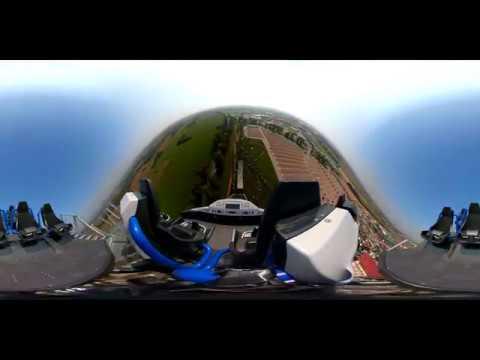 Hyperion Mega Coaster POV 360 VR Energylandia Amusement Park Poland