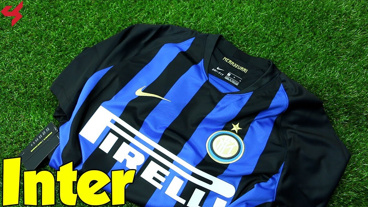 huge discount e22e2 435e3 Nike Inter Milan 2018/19 Home Jersey Unboxing + Review