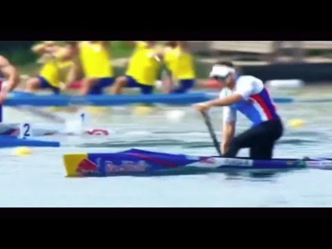 2018 ECA Canoe Sprint European Championships in Belgrade, Serbia Mens C-1 1000m Final A.