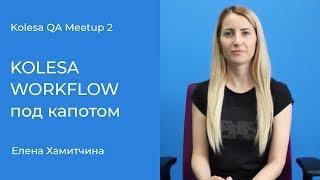 «KOLESA WORKFLOW под капотом», Елена Хамитчина