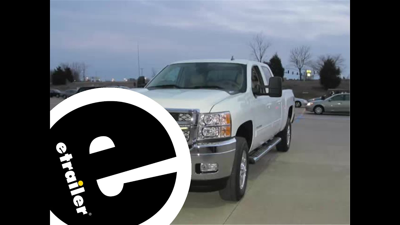 chevrolet starter diagram rv wiking spittal installation of a fifth wheel and gooseneck wiring harness on 2013 silverado - youtube