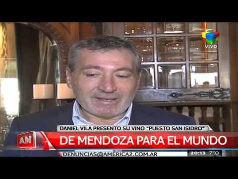 Daniel Vila presentó en sociedad el vino Puesto San Isidro