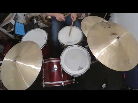 Never Too Much Drum Cover (straight)