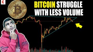 BITCOIN struggle with less volume, BITCOIN TECHNICAL ANALYSIS - CRYPTOVEL